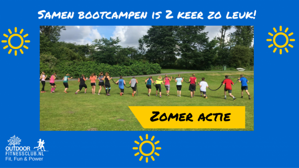 Bootcamp buddy actie aug 2016