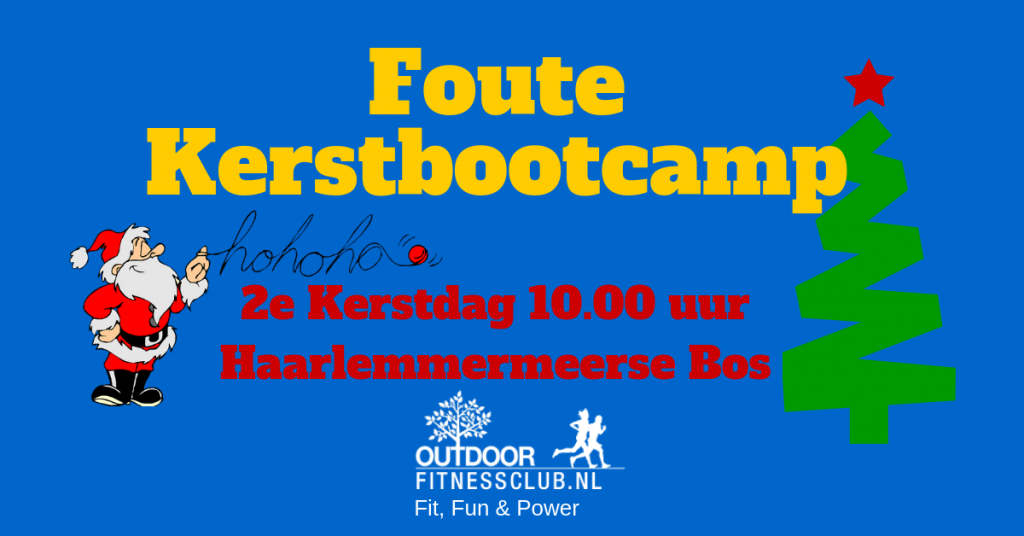 Foute Kerstbootcamp