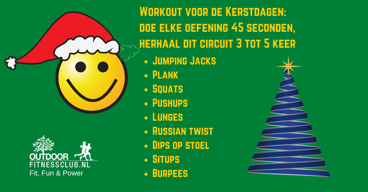 Kerst workout 2020